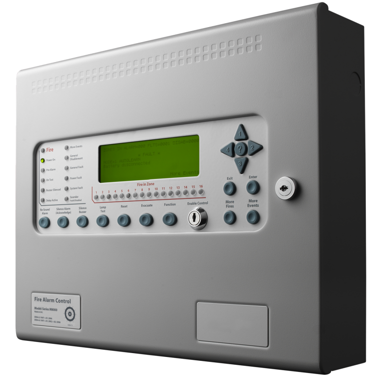 Kentec Syncro 2 loop AS Fire Alarm
