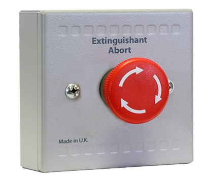 Sigma XT Extinguishant Abort Button