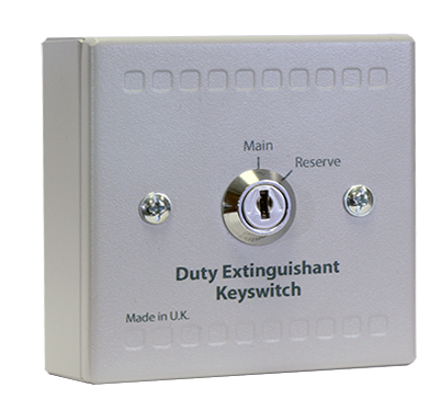 Sigma XT Main/Reserve Duty Extinguishant Keyswitch Unit