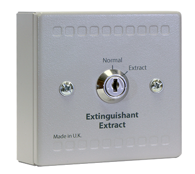 Sigma XT Extinguishant Extract Key Switch