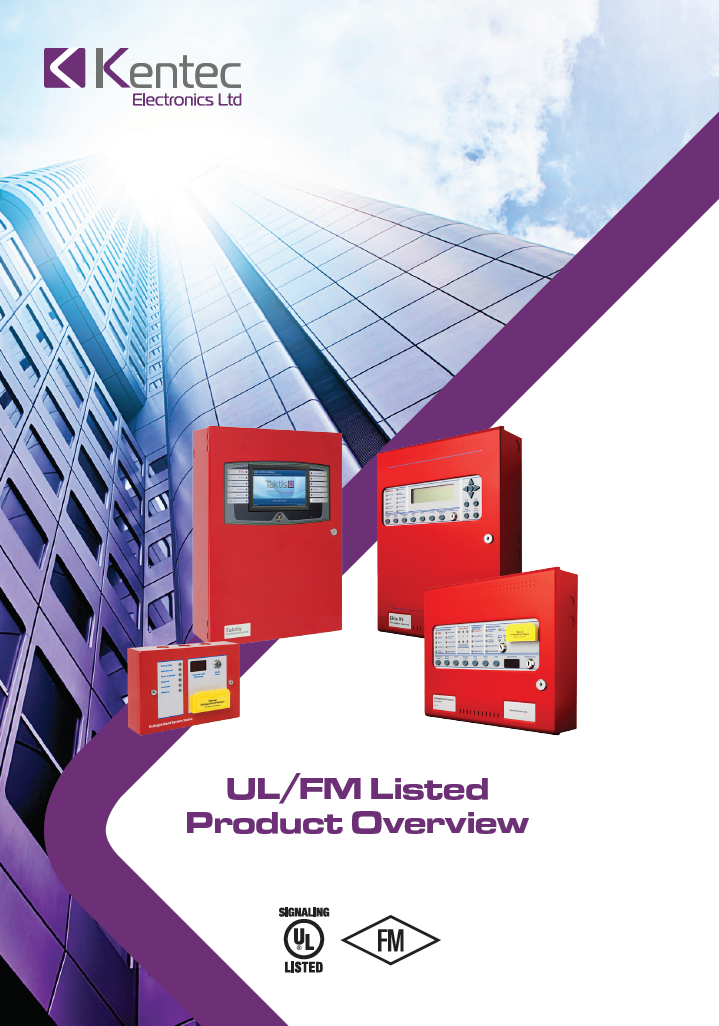UL/FM listed Product Overview