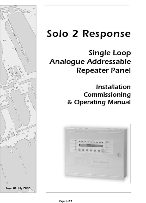 Man-1064 Solo Response