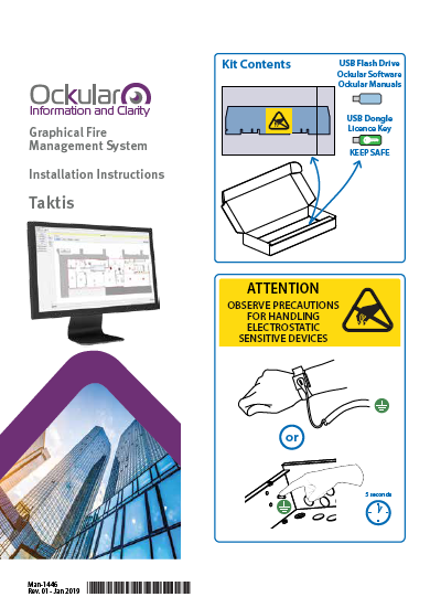 Man-1446 Ockular Taktis Installation Instructions