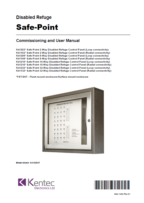 Man-1484 Safe-Point EVCS Manual