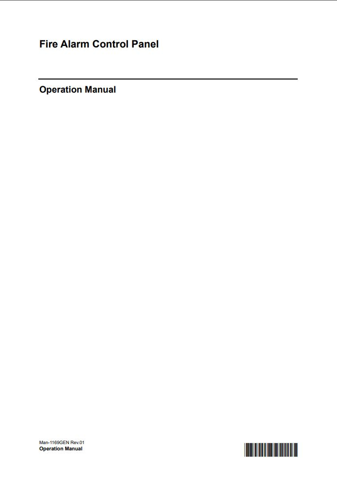 Man-1169GEN Taktis Operation Manual