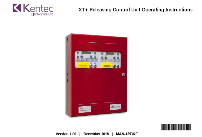 Man-1253 XT+ Releasing Unit Operating Manual