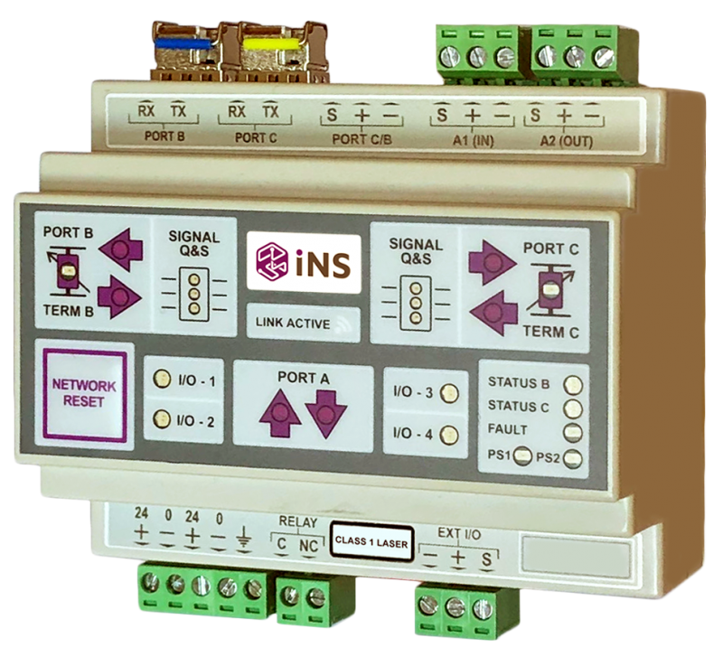 iNS Fibre Optic Network Module