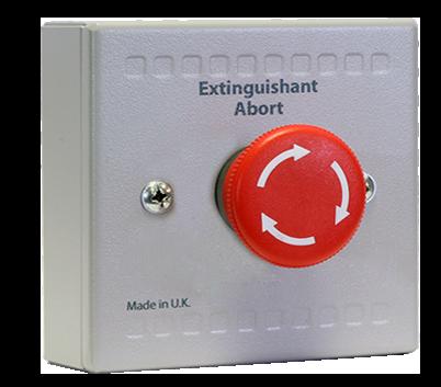 Sigma XT Extinguishant Abort Button